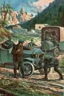 ITALIAN CARD CRUZ ROJA RED CROSS ITALY    WWI WWICOLLECTION - Weltkrieg 1914-18