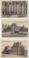 137.  Gent  -  Leopoldskazerne  (Gaspar De Craeyerstraat)  3 Kaarten - Gent