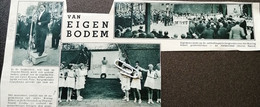 DEURNE - NOORD..1934.. ONTHULLINGSPLECHTIGHEID GEDENKTEKEN KONING ALBERT/ BURGEMEESTER CRAEYBECKX - Sin Clasificación