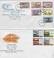 FDC 91 Et 93 - Ethiopia