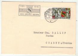Suisse // Schweiz // Svizzera // Marcophilie // Carte 750 Jahre Bern  Bureau Poste Automobile A311 - Postmark Collection