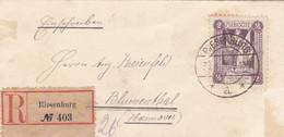 Deutsches Reich Plebiscite R Brief 1920 - Covers & Documents