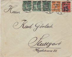 Deutsches Reich Memel Brief 1921 - Klaipeda