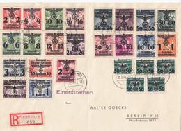 Deutsches Reich General Gouvernement R Brief 1941 - Occupation 1938-45