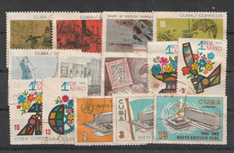 Kuba / Lot Mit Versch. Ausgaben Meist Gestempelt (C676) - Lots & Kiloware (mixtures) - Max. 999 Stamps