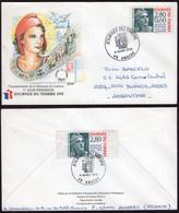 France - 1995 - Lettre - Journee Du Timbre 1995 - A1RR2 - Brieven En Documenten