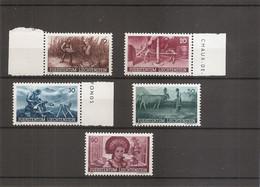 Liechtenstein ( 167/171 XXX -MNh) - Unused Stamps