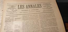ANNALES 97/ AFFAIRE DREYFUS SCHEURER KESTNER COLONEL MAUREL ESTERHAZY - Zeitschriften - Vor 1900