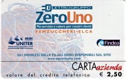 *CARTA AZIENDA 2° Tipo: ELETTROGRUPPO ZERO UNO - Cat. 714* - NUOVA (MINT)(FT) - Unclassified