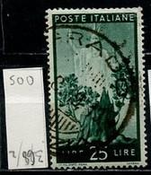 Italie - Italy - Italien 1945-48 Y&T N°500 - Michel N°701 (o) - 25l Italia - Usados