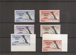 Oiseaux - Puffins ( Lot De 6 Timbres Différents Privés XXX -MNh- De Jethou) - Otros