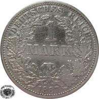LaZooRo: Germany 1 Mark 1887 A VF / XF - Silver - 1 Mark