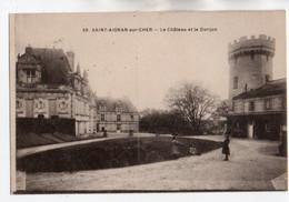 41 035, Saint St Aignan, Breger Freres 59, Le Château Et Le Donjon - Saint Aignan