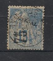 Sénégal - 1892 - N°Yv. 6 - Alphée Dubois 75 Sur 15c Bleu - Oblitéré / Used - Used Stamps