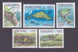 1978Faroe Islands31-35Landscape - Albatrosse & Sturmvögel