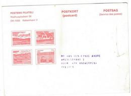 Denmark Danmark Postcard 1978 - Lettere