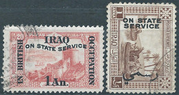 IRAQ,1918 /1925 Postage Stamps Surcharged ON STATE SERVICE,Used - Iraq