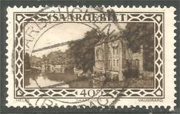 779 Sarre 1927 Fortificarion Saarlouis 40c (SAA-37) - Oblitérés