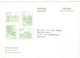 Denmark Danmark Postcard 1976 - Lettere
