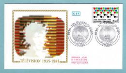 FDC France 1985 - 50ème Anniversaire De La Télévision - YT 2353 - Paris - 1980-1989