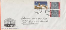 BELGIO - BELGIE - BELGIQUE - 2004 - Natale + 2 X BCH - Viaggiata Da Bruxelles Per Bruxelles - Briefe U. Dokumente