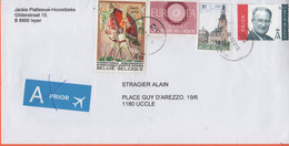 BELGIO - BELGIE - BELGIQUE - 2004 - Internationale Sportive Ouvrière + Europa Cept + Tielt + 0,07 A Prior - Viaggiata Da - Briefe U. Dokumente