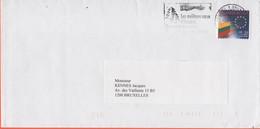 BELGIO - BELGIE - BELGIQUE - 2004 - UE Lituanie + Flamme - Viaggiata Da Bruxelles Per Bruxelles - Briefe U. Dokumente