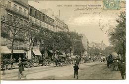75009 PARIS - Boulevard Poissonnière - Fiacres Et Calèches - Paris (09)