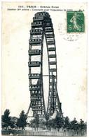 75015 PARIS - Grande Roue - Hauteur 100 Mètres - Publicité Bière Karcher - District 15