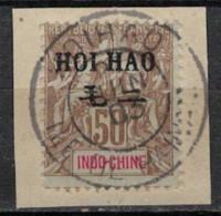 HOI HAO     N°  YVERT   28   OBLITERE     ( OB    9 / 42 ) - Oblitérés