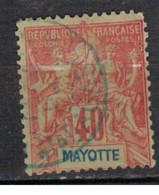 MAYOTTE      N°  YVERT  10    OBLITERE     ( OB    9 / 43 ) - Used Stamps