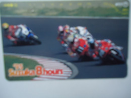 JAPAN NTT AND OTHERS  USED CARDS  MOTORBIKES SPORTS  RALLY - Moto