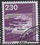 Berlin Poste Obl Yv:556 Mi:586 Flughafen Frankfurt (TB Cachet Rond) - Used Stamps