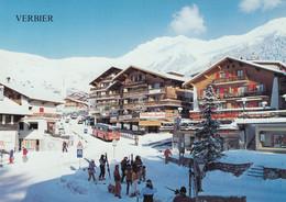 Verbier - La Station Du Val De Bagnes , Bus 1988 - VS Valais