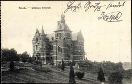 CPA Binche Wallonien Hennegau, Chateau Ghisbain - Altri