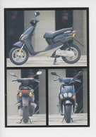 Yamaha Scooter - Waar Is M'n Scooter (humour) Ou Est Mon Scooter ? Carte Double Vierge - Advertising