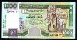 565-Sri Lanka Billet De 1000 Rupees 1995 G70 - Sri Lanka