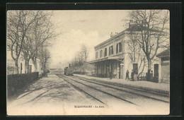 CPA Roquemaure, La Gare, La Gare - Roquemaure