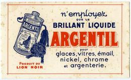 Buvard  20.4 X 12 LION NOIR  Argenterie Nickel Vitre ...ARGENTIL - Wash & Clean