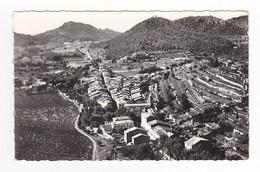 83 En Avion Au Dessus De LA ROQUEBRUSSANNE N°1 Belle Vue Panoramique VOIR DOS - La Roquebrussanne