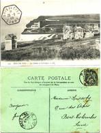 SOMME 1905 CP CACHET HEXAGONAL BUREAU INTERET PRIVEE BOIS DE CISE + VERSO AULT MEME DATE SUR 5C BLANC - 1877-1920: Periodo Semi Moderno