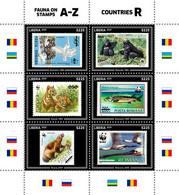 Liberia 2020  Fauna WWF Stamps  On Stamps   S202009 - Liberia