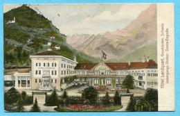 Hotel Landquart - Uebergangs-Station: Davos - Engadin 1910 - GR Grisons