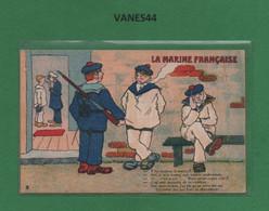 THEME MILITARIA-CPA LA MARINE FRANCAISE - Humor