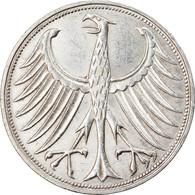 Monnaie, République Fédérale Allemande, 5 Mark, 1972, Stuttgart, TTB+ - 5 Mark