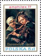 Ref. 263676 * NEW *  - POLAND . 1977. AMPHILEX 77. INTERNATIONAL PHILATELIC EXHIBITION. AMPHILEX 77. EXPOSICION FILATELI - Nuovi