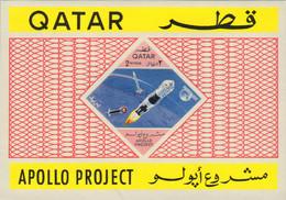 Ref. 576595 * NEW *  - QATAR . 1967. SPACCE CONQUEST. CONQUISTA ESPACIAL - Qatar
