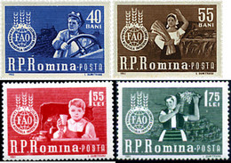 Ref. 246378 * HINGED *  - ROMANIA . 1963. WORLD CAMPAIGN AGAINST HUNGER. CAMPA�A MUNDIAL CONTRA EL HAMBRE - Nuovi