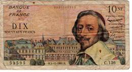 10 NF Richelieu 1960 - 10 NF 1959-1963 ''Richelieu''