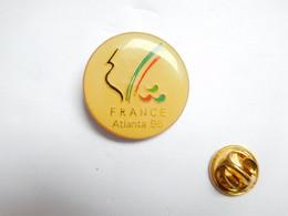 Beau Pin's , JO , Jeux Olympiques  Atlanta 1996 , France , Coq - Jeux Olympiques